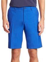 J. Lindeberg Golf Regular-Fit Flat Front Shorts