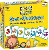 University Games Brain Quest Sea-Quence Game by