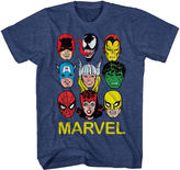 Novelty T-Shirts Marvel Short-Sleeve Mugs Tee