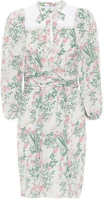 Giambattista Valli Floral silk crepe de chine dress