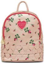 Betsey Johnson Heart Applique Mini Backpack