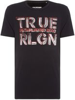 True Religion Logo Graphic Crew Neck T-shirt
