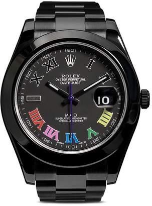 Rolex MAD Paris Datejust II Color Flow 41mm