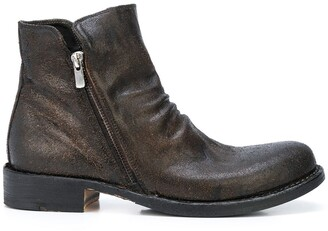 Officine Creative Ruched Detail Boots