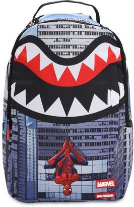 Spiderman Printed Canvas Backpack