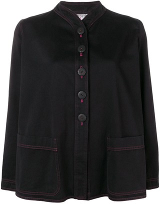 Yves Saint Laurent Pre Owned 1980's Shift Buttoned Jacket