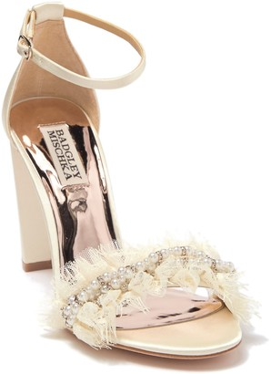 Badgley Mischka Fleur Ankle Strap Sandal