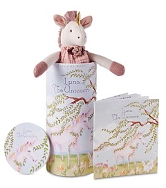 Elegant Baby Knit Toy & Bedtime Story Coloring Booklet - Baby