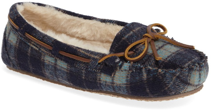 6786cc055b4ad Fur Lined Slippers - ShopStyle