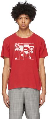 R 13 Red The Velvet Underground Edition Boy T-Shirt