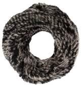 Yves Salomon Knitted Fur Scarf