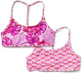 Athleta Girl Surfs Up Reversible Bikini Top