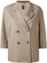 Eleventy double breasted jacket - women - Cotton/Spandex/Elastane/Polyester/Acetate - 40