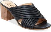 Nanette Lepore Nanette by Ray Crossband Block-Heel Mules Women's Shoes