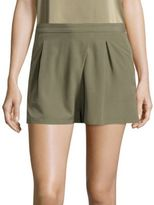 Halston Faux Wrap Shorts