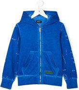 Diesel printed hoodie - kids - Cotton - 10 yrs