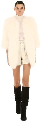 Yves Salomon Feather Coat