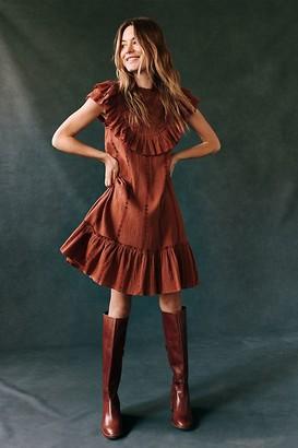 Othilia Lesly Ruffled Mini Dress