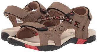 Propet Elon (Brown/Red) Women's Sandals