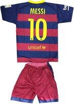 Silva Kids FC Barcelona Messi 10 Jersey/Shorts Football Soccer (DriFit)