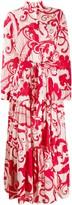 La DoubleJ Bellini maxi shirt dress