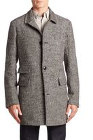 Billy Reid Astor Wool & Silk-Blend Coat