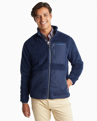 Southern Tide Sherpa Zip-Up Jacket