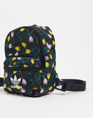 adidas Bellista mini backpack in black