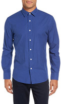 Slate & Stone Star Long Sleeve Trim Fit Shirt