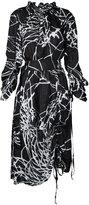 Taylor Collation dress - women - Silk - S