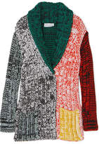 Sonia Rykiel Crochet-knit Cardigan - Green