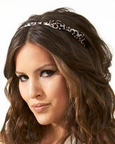 Bebe Leopard Bow Headband