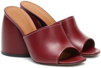 Neous Epige leather sandals