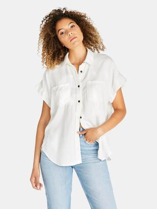 ÉTICA Ash Short Sleeve Shirt - Vintage White