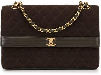 Chanel Pre-Owned 1990s quilted double chain shoulder bag