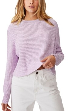 Cotton On Women's Archy Cropped Pullover