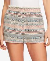 1 STATE 1.state Frayed Tweed Paperbag Shorts