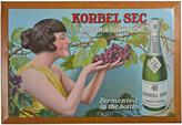 Rejuvenation NOS Tin Litho Korbel Sec Sign c1910