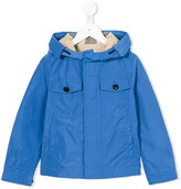 Burberry hooded raincoat - kids - Cotton/Polyester - 5 yrs