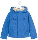 Burberry hooded raincoat