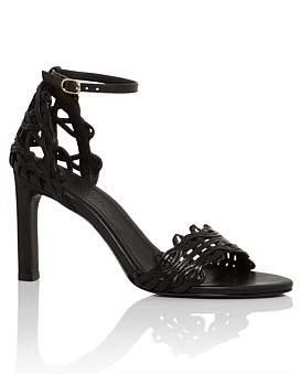 Zimmermann Wave Lattice Heel Sandal