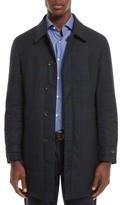 Canali Men's Reversible Raincoat