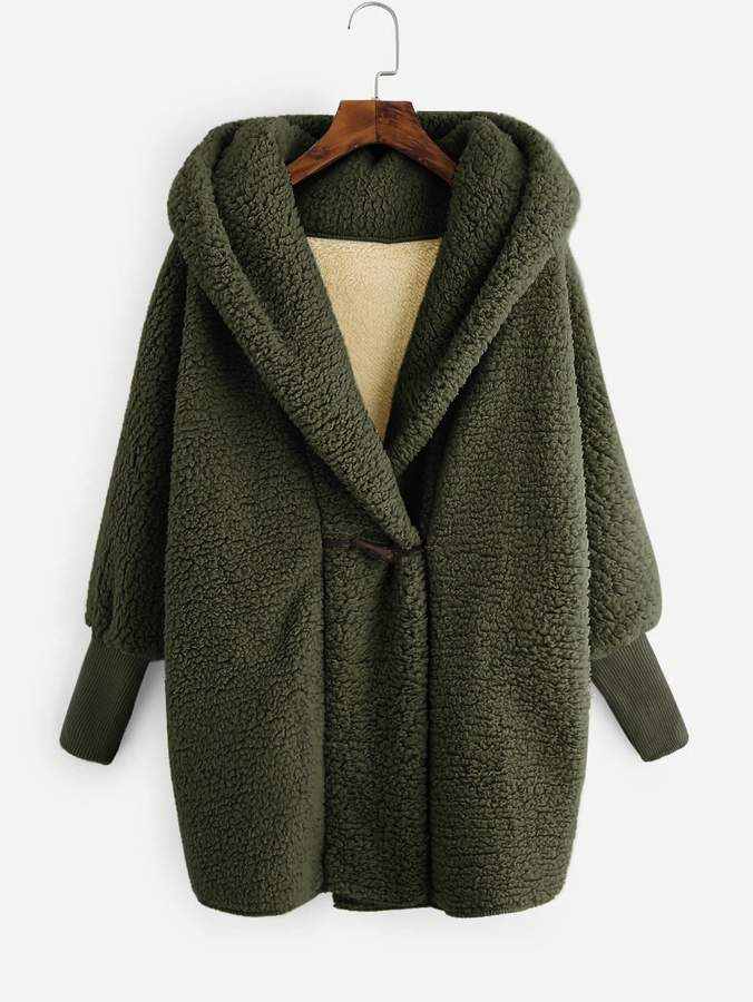 81f286db88 Shein Green Fur & Shearling Coats on Sale - ShopStyle