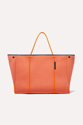 Olympia Activewear - + State Of Escape Perforated Neoprene Tote - Coral