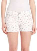 Current/Elliott The Girlfriend Rose Ditsy Print Short