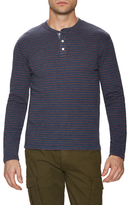 Faherty Striped Duo Fold Henley