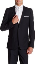 The Kooples Two Button Suit Jacket