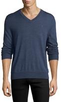 Brooks Brothers Solid Merino Wool Sweater