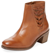 Seychelles Footlights Woven Leather Bootie