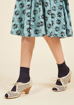 ModCloth I Feel It in My Toes Socks in Midnight